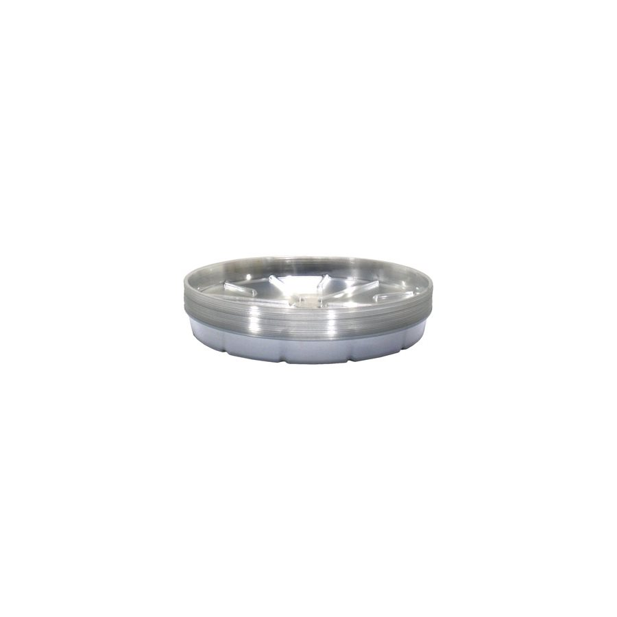 """SAUCER 16"""" CLEAR PLASTIC (50)"""