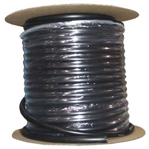BLACK FLEXIBLE HOSE 1 / 2'' (5 / 8 EXT) x 200' (1)
