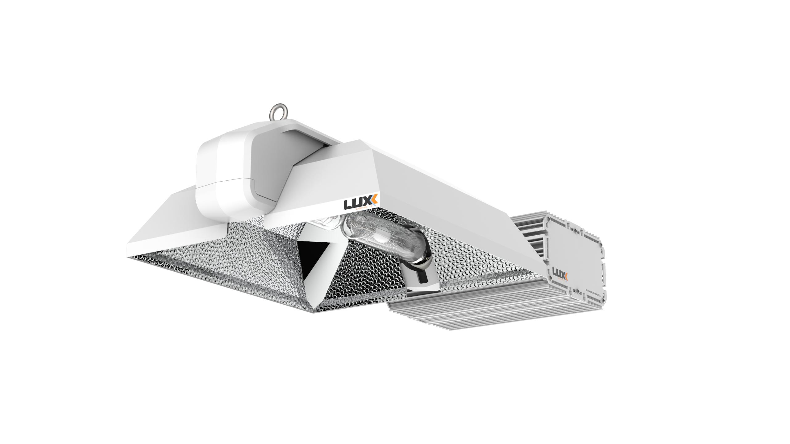 LUXX FIXTURE - CMH 630 WATTS - 347V + 4200°K BULB (1)