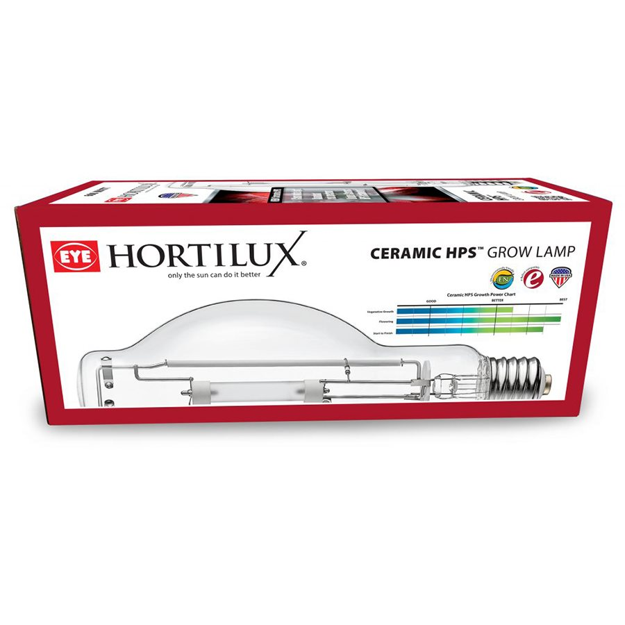 HORTILUX BULB 600W HPS CERAM.RED CLU600 / HOR / HTL / EN (1)