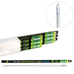 SUNBLASTER CONVERSION NEON T5 LED 18W 2' 6400K (6)