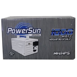 POWERSUN ORIGINAL TRANSFORMATEUR 1000W HPS / MH 120 / 240V (1)