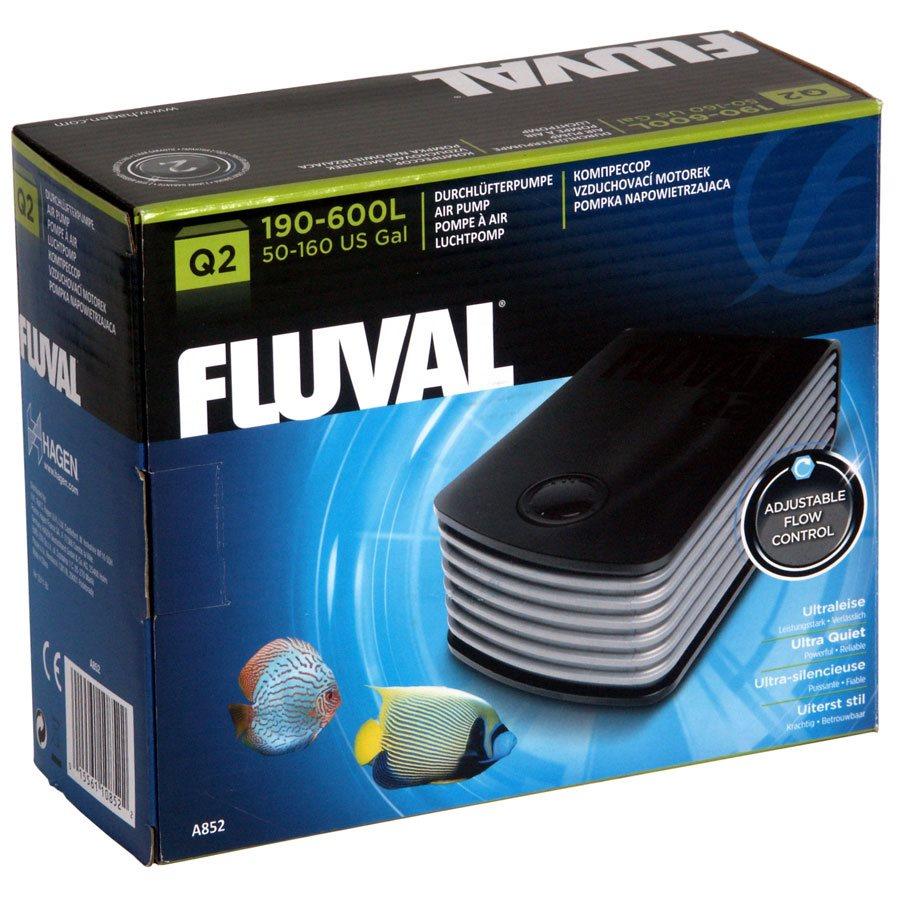 FLUVAL Q2 ADJUSTABLE FLOW AIR PUMP (1)