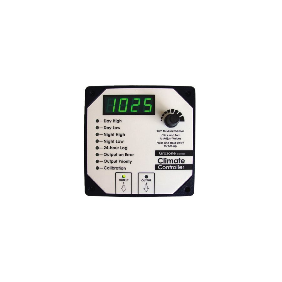 GROZONE HT CLIMATE CONTROLLER RH AND T° (1
