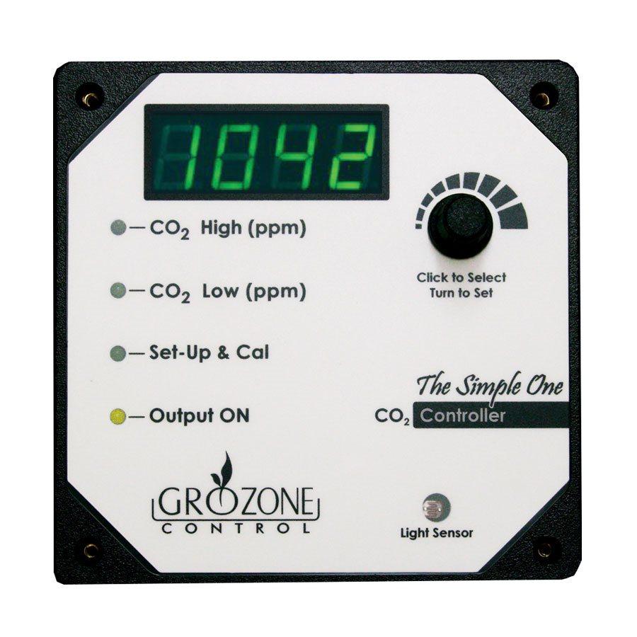 GROZONE SC02 CO2 CONTROLLER 1 OUTPUT 0-5000 PPM (1)