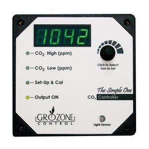 GROZONE SC02 CONTRÔLEUR DE CO2 À 1 SORTIE 0-5000 PPM (1)