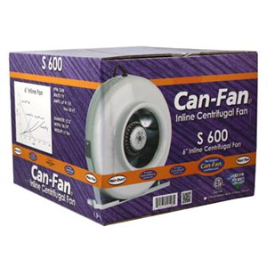 "CAN-FAN VENTILATEUR S600 6"" (1)"
