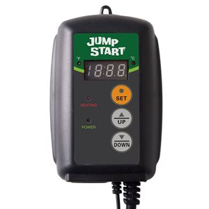 HYDROFARM JUMP START DIGITAL THERMOSTAT FOR HEATING MAT (1)