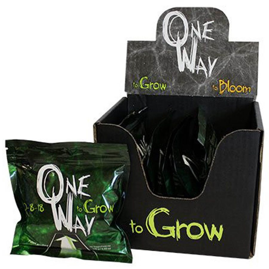ONE WAY TO GROW 10-8-18 / 6 PKG OF 2 BAGS / BOX (1)