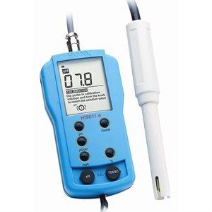 HANNA HI 9811-5 PH / EC / TDS / T° METER (PROBE HI 1285-5) (1)