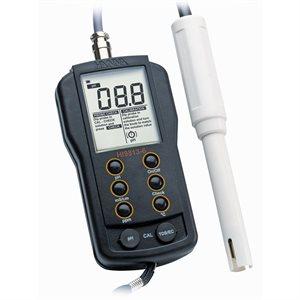 HANNA HI 9813-6 PH / EC / TDS / T° METER (PROBE HI 1285-6) (1)