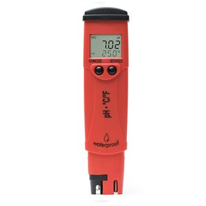 HANNA HI 98128 PHEP5 PH / T° TESTER (RED) (HI 73127) (1)