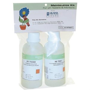 HANNA HI MTNKIT CLEANING + STORAGE SOLUTIONS 230 ML (1)