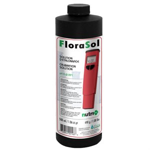 NUTRI+ FLORASOL CALIBRATION SOLUTION PH 4 500ML (1)