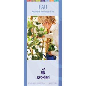GRODAN GRO-GUIDE EAU FRANÇAIS (80)