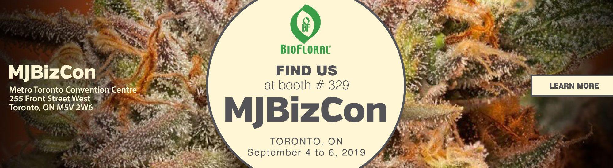 Meet us at MJBizCon Toronto